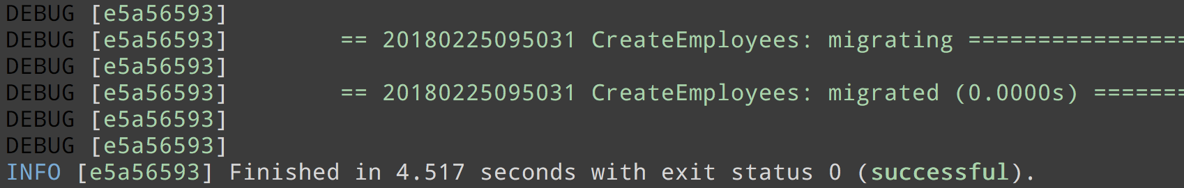 Rubyland every time when you deploy code with schema changes you have to apply new active record migrations by running binrails dbmigrate fandeluxe Images