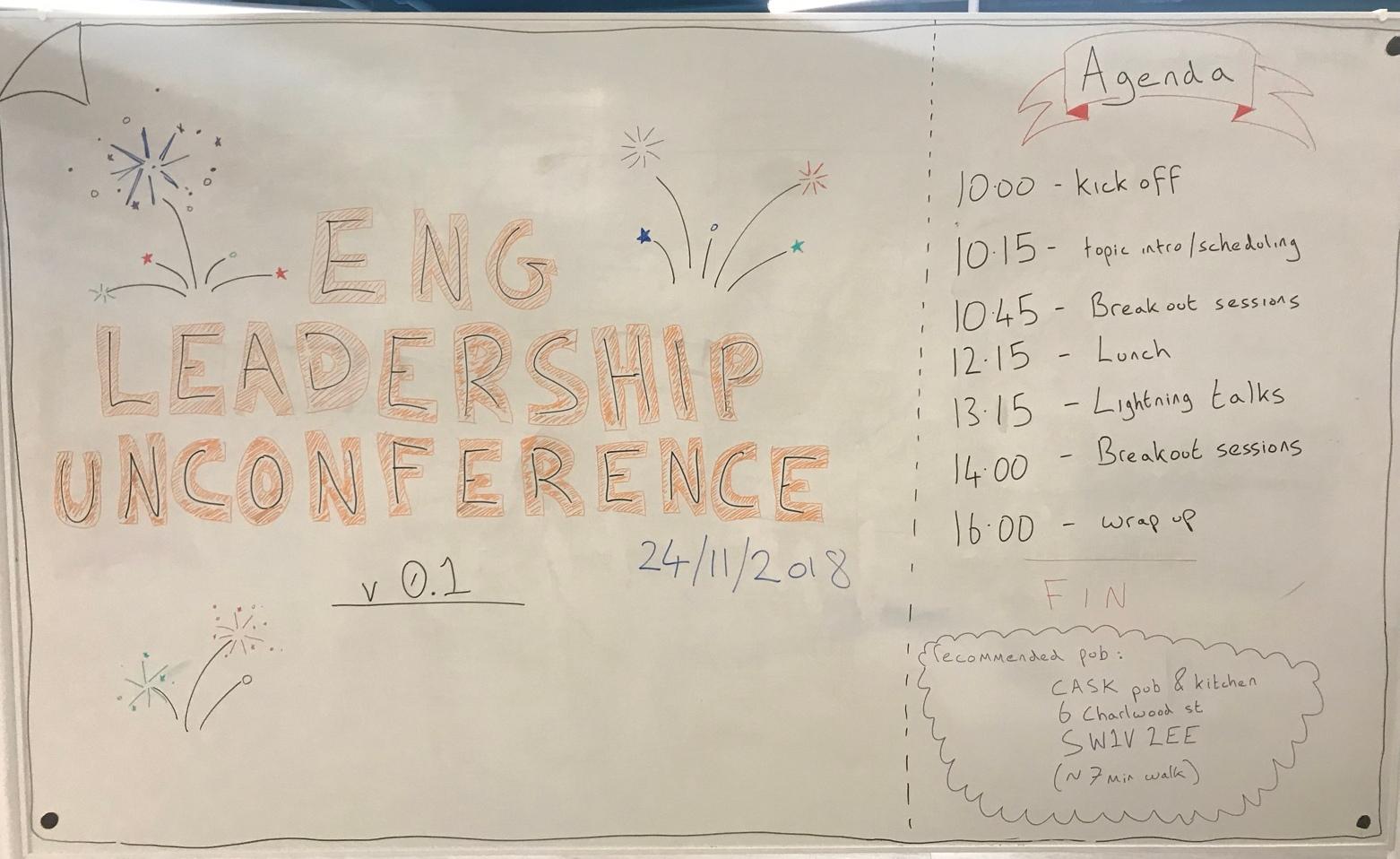 Engineering Leadership Unconference